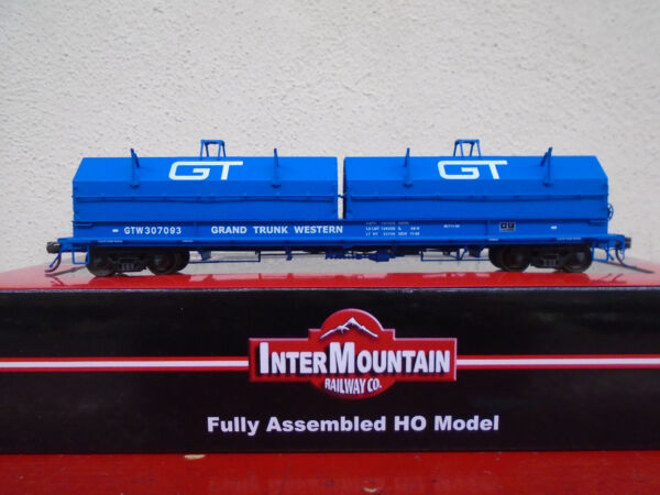 Intermountain Grand Trunk Western Evans Steel Cushion Coil Car RR 32508 GTW HO $44.95
