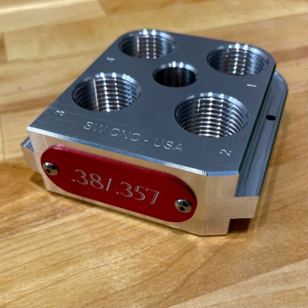 Dillon RL550B C Precision Machined Billet Aluminum Toolhead Made in the USA