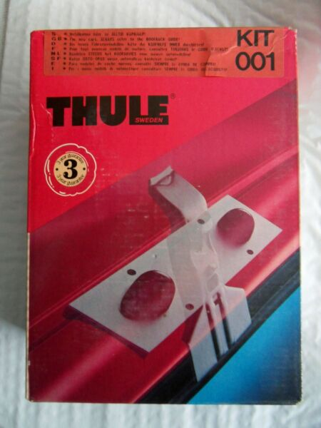 New NOS Thule Rack Fit Kit 001 fits Audi VW Rover Free US Shipping $23.33