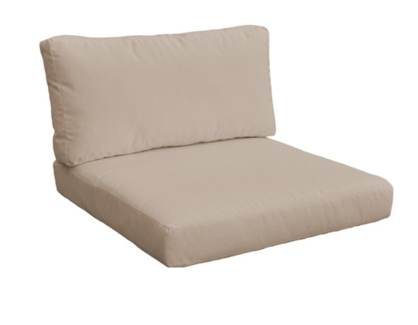 Outdoor Replacement cushion covers in Wheat 2pc $38.00