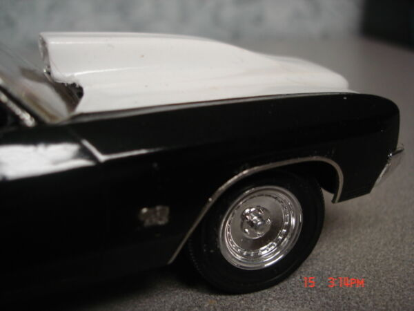 AMT 1 25 70 Chevelle Resin Cast Big Cowl Hood