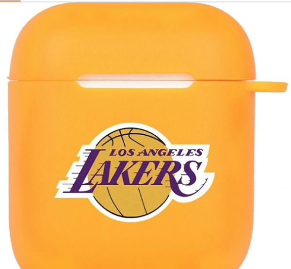 Kobe Bryant Lakers AirPods 1 amp; 2 Cover TPU Protective Charger Case