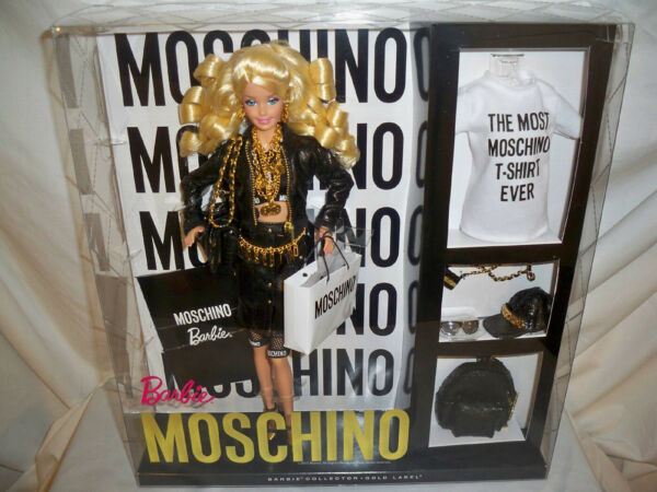 Moschino Barbie Doll Caucasian Blonde NRFB Product Code CHX10 EXCELLENT Mattel $674.99