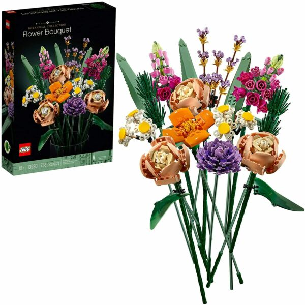 LEGO Flower Bouquet 10280 Building Kit 756 Pieces **BRAND NEW FREE SHIPPING**