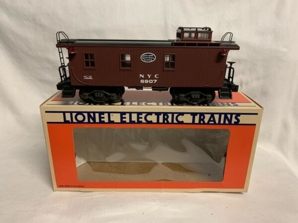 ✅LIONEL NEW YORK CENTRAL WOOD SIDE CABOOSE STD. O 6 6907 FOR NYC DIESEL STEAM $44.99