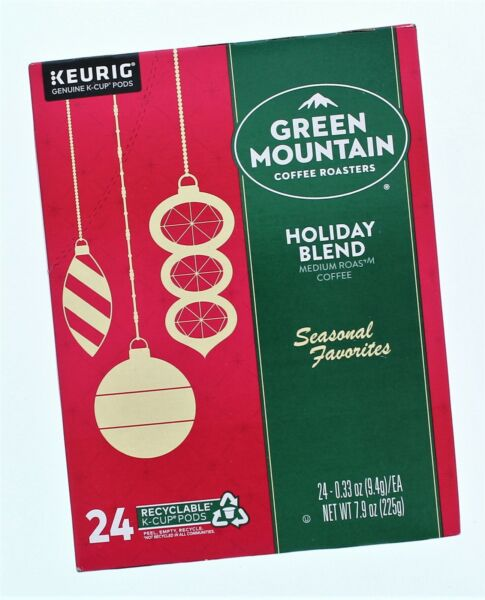 KEURIG Green Mountain Holiday Blend 24 K Cup Pods
