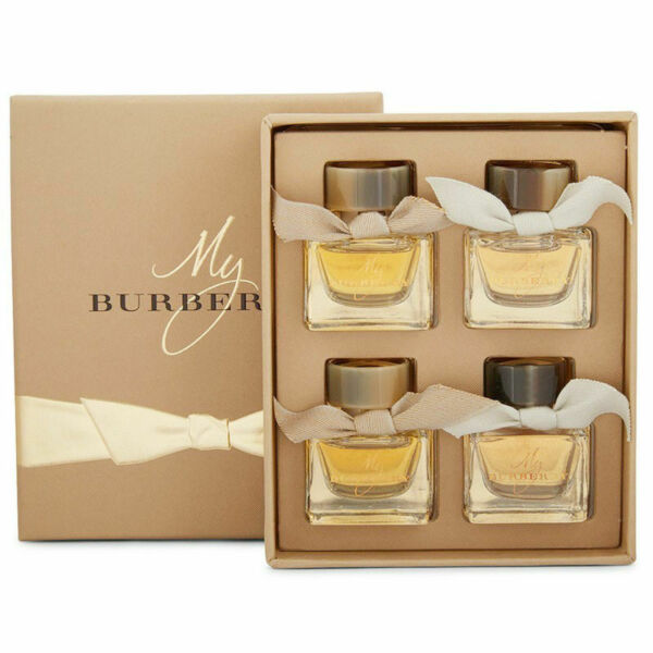 My Burberry for Women Miniature Collection EDP Splash 0.17 oz 4 pc Gift Set $39.95