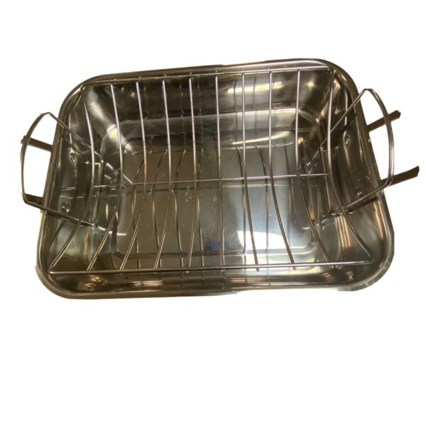 Cuisinart Stainless Steel 16 Inch Roasting Pan With Rack