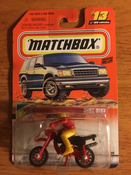 2000 MATCHBOX #13 Dirt Bike To The Beach Series $7.50