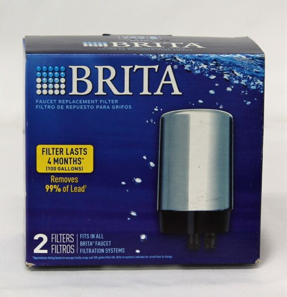 Brita Faucet Replacement Filter For All Brita Faucet Filtration Systems