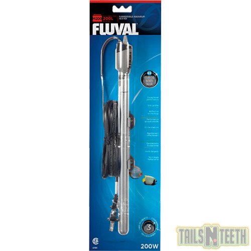 Fluval M200 Submersible Aquarium Heater 200w For up to 65 Gallons C $55.49