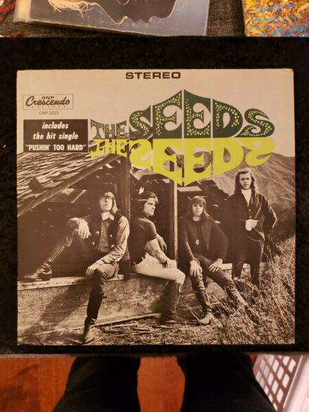 The Seeds The Seeds Garage Psychedelic Rock Vinyl Reissue VG LP $50.00