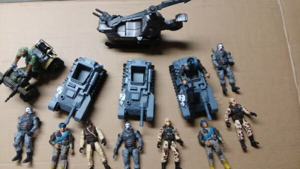 Soldier Force Cap Mei Military Army figures the Corps Lot figures vehicles