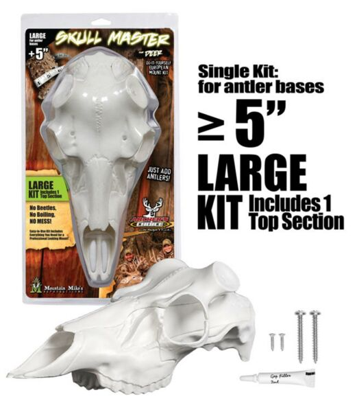 Mountain Mike#x27;s Reproductions Skull Master Large Antler Mounting Kit $30.49