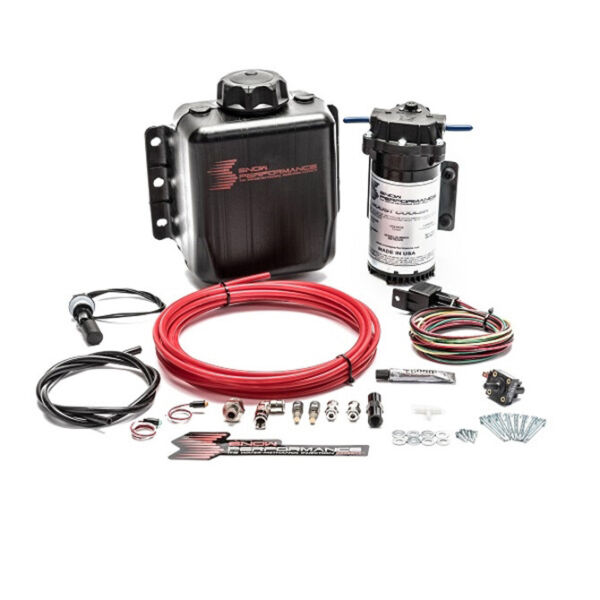 Snow Stage 1 Boost Cooler Forced Induction Water Methanol Injection Kit Red