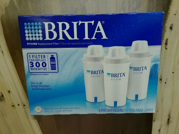 Brita Replacement Water Filter 3 Pack New Sealed