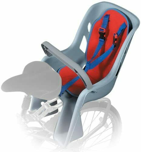 Bell Shell Front or Rear Mounted Child Bicycle Seats $65.77