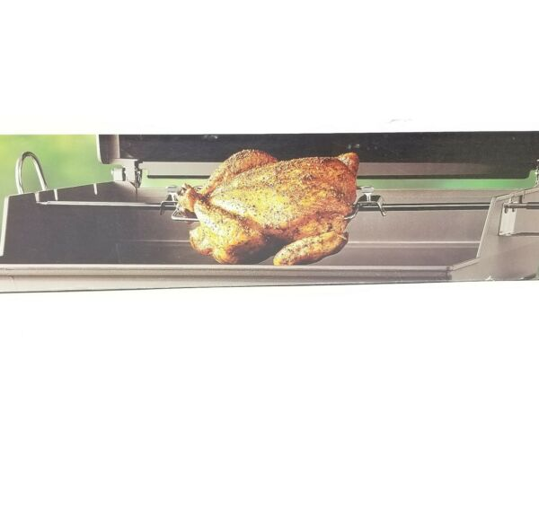 Weber Gas Grill Barbecue BBQ Rotisserie Model 9890 NEVER USED New Open Box