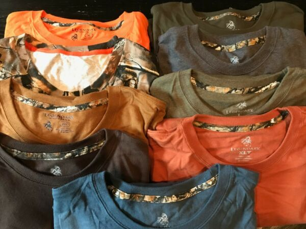 New Legendary Whitetails Long Sleeve Shirts Many Colors amp; Sizes