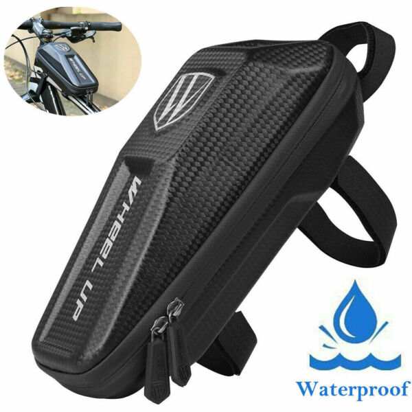 Front Frame Waterproof Bike Bag Cycling Bicycle Top Tube Pouch Phone Holder MTB $12.99