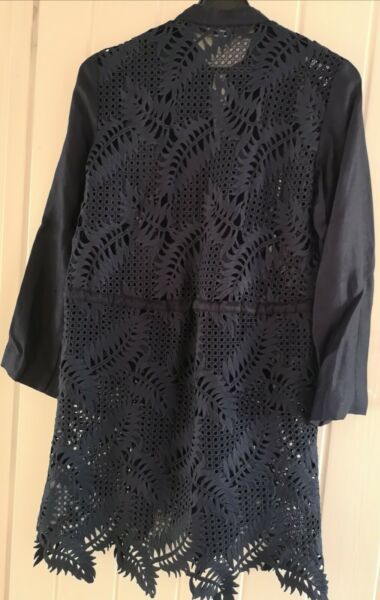 Zara embroidered long top. Size Small