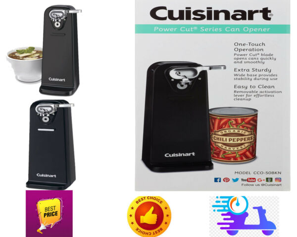 NEW BOX Cuisinart Deluxe Can OpenerCuisinart quality engineered motor system