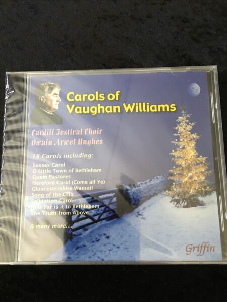 Carols of Vaughan Williams CD Nov 2010 Griffin a ceremony of carols new