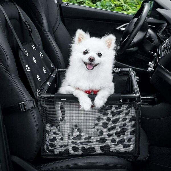 Dog Car Seat Portable Pet Car Booster Safety Leash Small Pets Clip On Washable $36.95