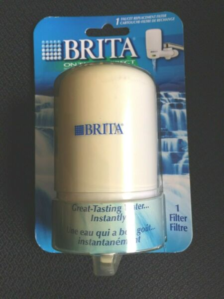 Brita On Tap White Faucet Replacement 2 Stage Filter FF 100 19543.100XP1 NEW