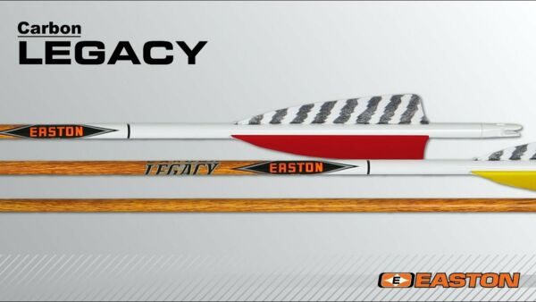 Easton Carbon Legacy 400 Arrows 6 Pack Free Shipping New $64.99