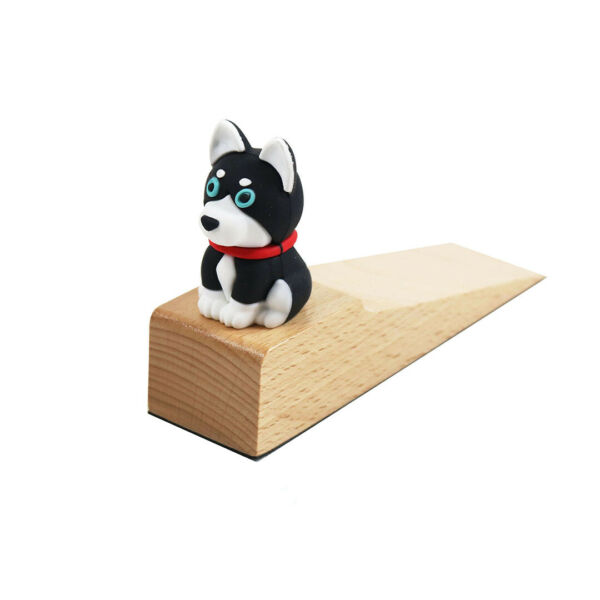 GDLF Door Stopper Cute Dog Silicone Wedge Style for Home or Office $4.99
