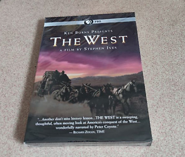 Ken Burns Presents The West : A Film by Stephen Ives DVD Set New USA seller