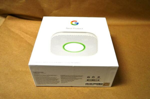 Google Nest Protect Smoke and Carbon Monoxide Alarm S3000BWES UNIT ONLY NO BOX $55.00