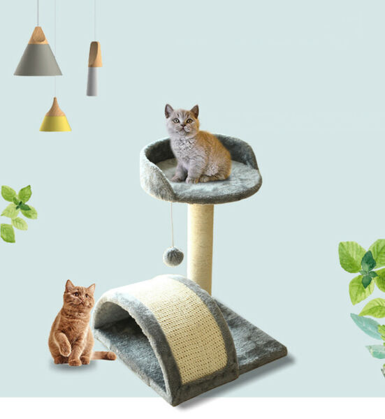16quot; Cat Tree Condo Pet Furniture Activity Tower Play House Condo Rest Play Home $23.99