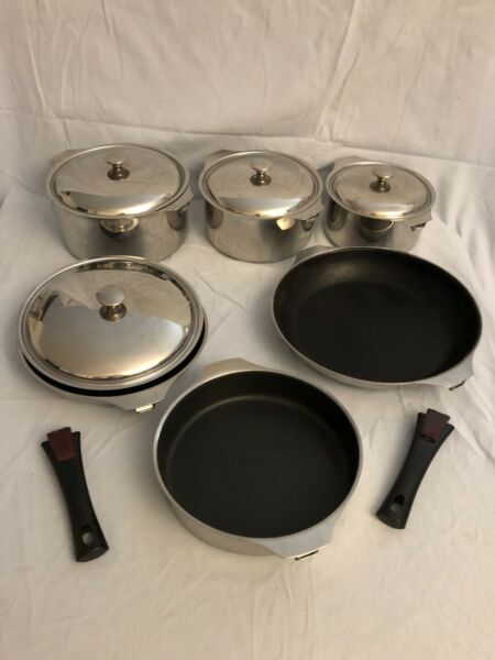 Triplinox Letang Remy 12 Pc 18 10 Stainless Steel Copper Cookware France EC