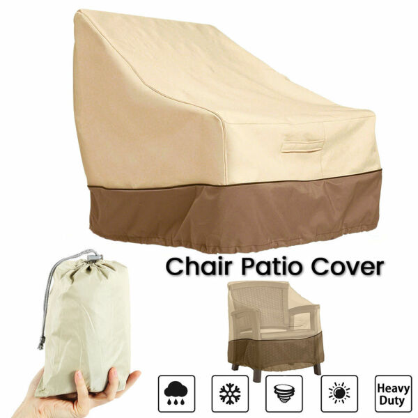 Outdoor Furniture Cover Chair Sofa Waterproof Rattan Garden Patio Shelter $20.99