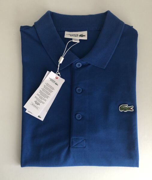 Lacoste Men Polo Shirt Size M French Size 4 Pit To Pit 20 Inches