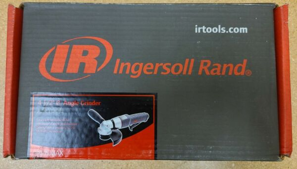 INGERSOLL RAND 3445MAX AIR ANGLE GRINDER PNEUMATIC 4 1 2quot; NEW $150.00