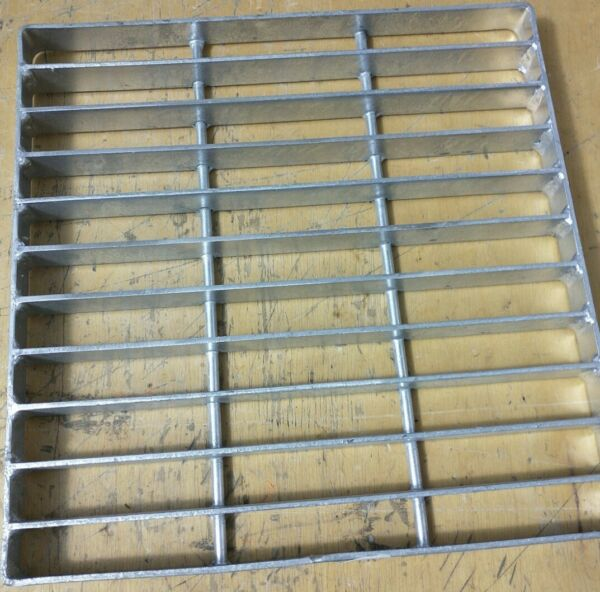 NDS 1215 12quot; Square Galvanized Steel Grate