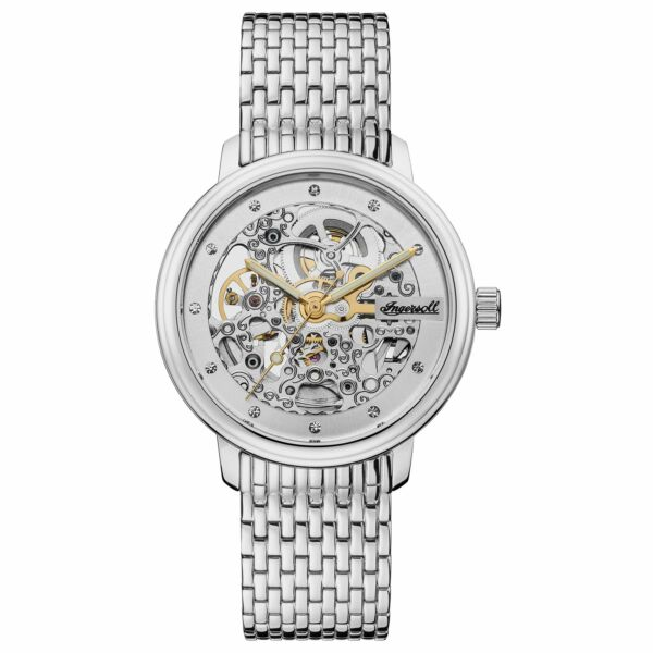 Ingersoll The Crown Men#x27;s Automatic Watch I06101 NEW $120.00