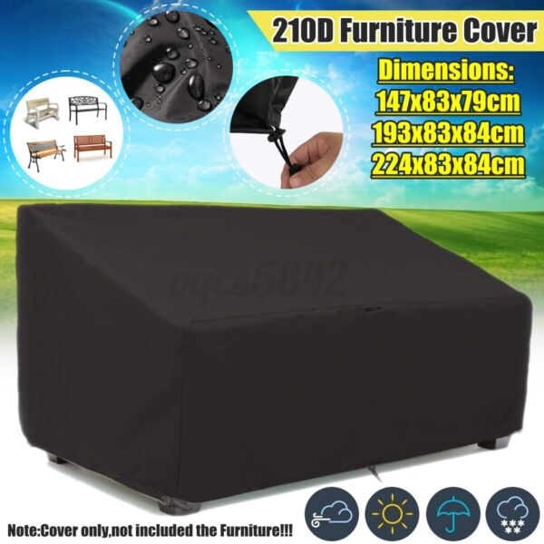 💦 Garden Patio Furniture Cover Protector Indoor Outdoor Dust Rain UV Resistance