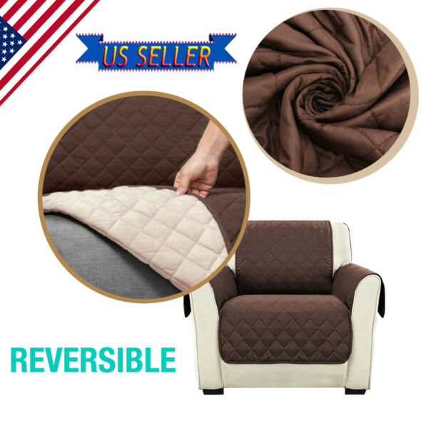 Waterproof Sofa Cover Couch Chair Loveseat Slipcover Furniture Protector Pet Mat $8.99