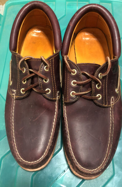 Men's Timberland for a boat shoes leather brown size 13 M $70.00