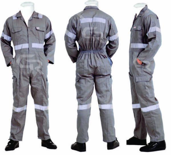 Men#x27;s Overalls Boiler Suit Coveralls Mechanics Boiler suit Protective BuilderS $43.99