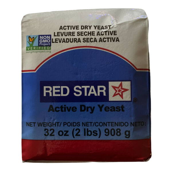 Red Star Active Dry Yeast 2lb 32 oz EXP 05 22 Baking Bread Machines NON GMO
