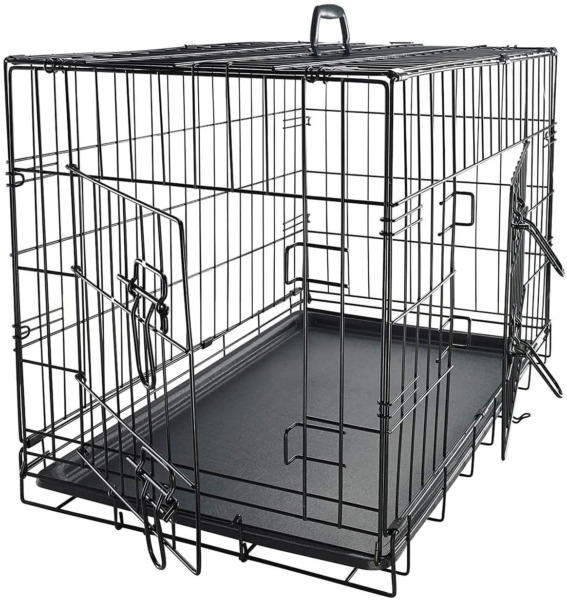 Dog Crates for Large Dogs Dog Crate 36quot; Pet Cage Double Door Best for Big Pets $53.31