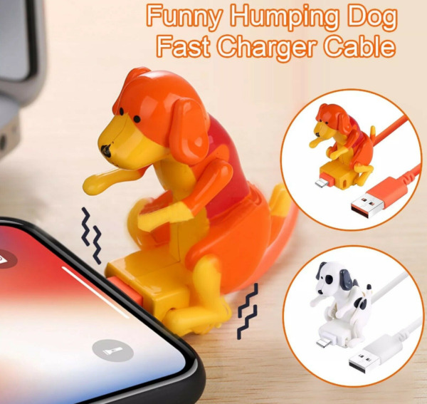 Funny Humping Dog Fast Charging Cable Mini Smartphone Cable Charger 1M Charging $9.99