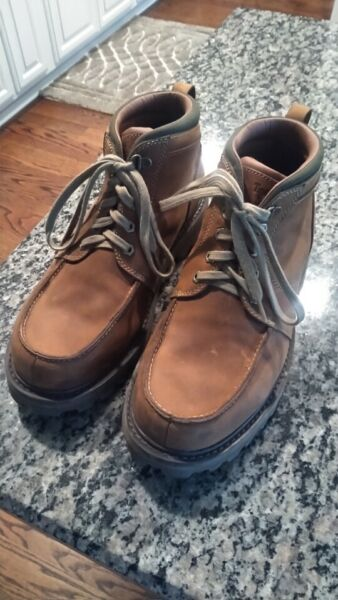 timberland boots men 10.5 used $50.00