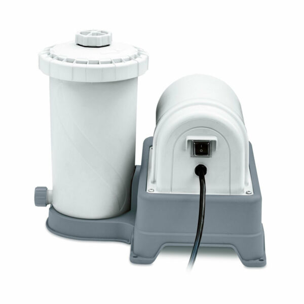 Summer Waves 2000 Gallon Above Ground Swimming Pool Cartridge Filter Pump System $164.99