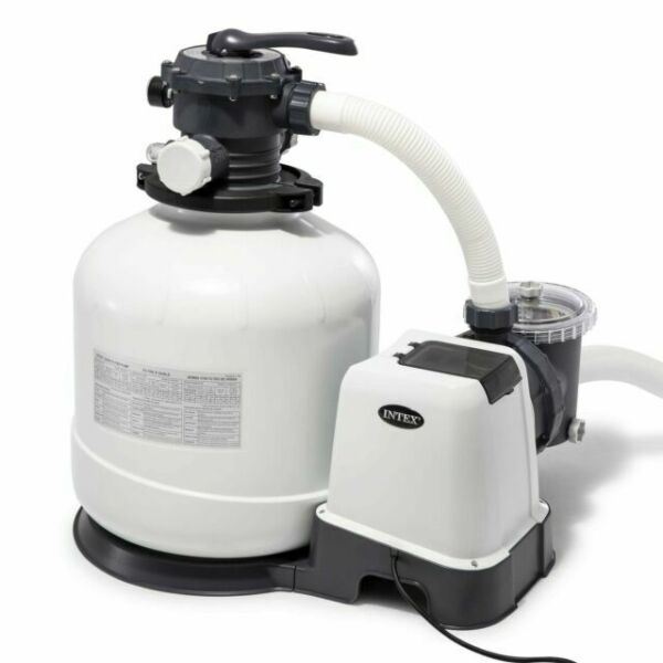 Intex3000 GPH Above Ground Pool Sand Filter Pump with Automatic Timer 26651EG $459.95